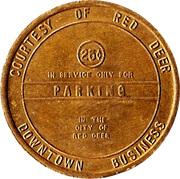 Parking Token - City of Red Deer (Red Deer, AB) – obverse
