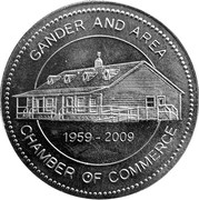 2 Aviation Dollars - Gander and Area – obverse