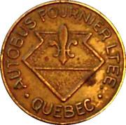 Token - Autobus Fournier LTEE (Quebec; Brass; 17 mm) – obverse