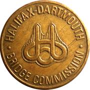 Token - Halifax Dartmouth Bridge Commission – obverse