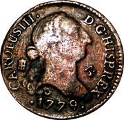 Token - Coleccion Ortiz (4 Maravedis Carlos III 1779) – obverse