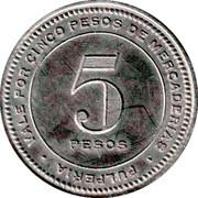 5 Pesos - Collahuasi la grande – reverse