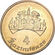 4 Kazimierze (I edition) - Kazimierz Dolny – obverse