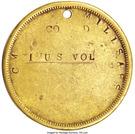 Civil War Dog Tag - C.M. Millsaps (Co. D 1st US Vol) – reverse