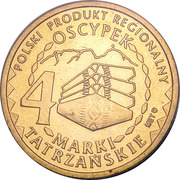 4 Marki Tatrzańskie - Powiat Tatrzański (Zakopane) – obverse