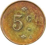 5 Centimes - Société Coopérative Altayrac – reverse