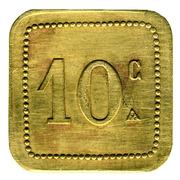 10 Centimes - Société Cooperative Altayrac – reverse