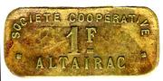1 Franc - Société Coopérative Altayrac – obverse