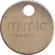 Shopping Cart Token - Mimic Copenhagen – obverse