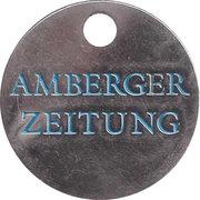 Shopping Cart Token - Amberger Zeitung – obverse