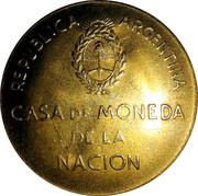 Token - Argentine Industrial Exposition of 1946 – reverse