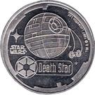 1000 Credits - Star Wars (Death Star) – obverse