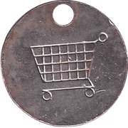 Shopping Cart Token - Christiane – reverse