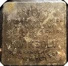 10 Cents - Kwiksolv (Chicago, Illinois) – reverse