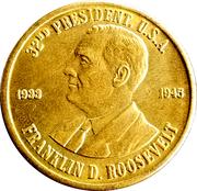 Token - Franklin D. Roosevelt (32nd President) – obverse
