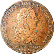 Token - Louis XIV (Libération d'Arras) – obverse