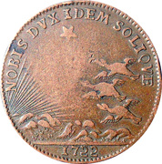 Etats de Bourgogne – reverse