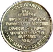 Token - Grover Cleveland (22nd & 24th President) – reverse