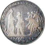 Accession au trône d'Espagne du duc d'Anjou – reverse