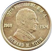 Token - Richard M. Nixon (37th President) – obverse