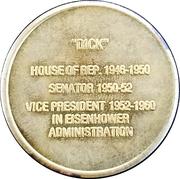 Token - Richard M. Nixon (37th President) – reverse