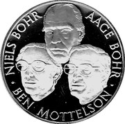 Medal - Nobelprisen i Fysik – reverse