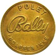 Token - Bally Polet – reverse