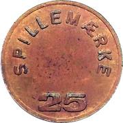 25 Spillemærke - Grill Corner – reverse
