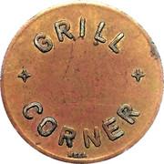 25 Spillemærke - Grill Corner – obverse