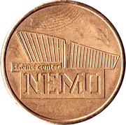 Token - Science Center NEMO (Teen Facts) – obverse