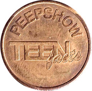Token - Science Center NEMO (Teen Facts) – reverse
