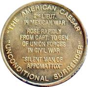 Token - Ulysses S. Grant (18th President) – reverse