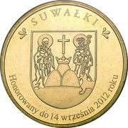 4 Suwale - Suwałki - Wilk Szary – reverse