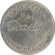 Amusement Token - Space City – obverse