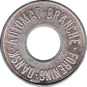 25 Spillemærke - Dansk Automat Branche Forening – obverse