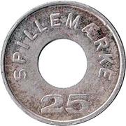 25 Spillemærke - Dansk Automat Branche Forening – reverse