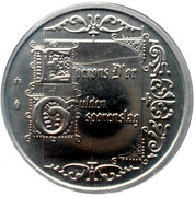 Royal Belgian Mint Token – reverse