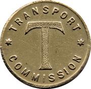 Token - Bellerive Turnstyle (Tasmania) – reverse