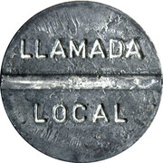 Telephone Token - IETEL (llamada local) – obverse