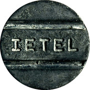 Telephone Token - IETEL (llamada local) – reverse