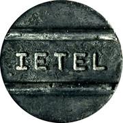 Telephone Token - IETEL – reverse