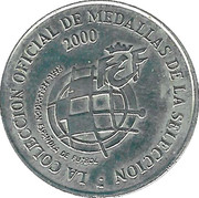 Token - RFEF Medallas de la Seleccion (Molina) – reverse