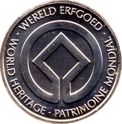 Token - World Heritage (Cathedral of Tournai) – reverse