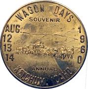 1 Dollar - Ketchum, Idaho (Wagon Days 1960) – obverse