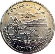 1 Souvenir Dollar - Montana – obverse