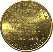 50 Cents - Redmond, Oregon – reverse