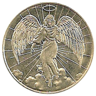 catholic relief services angel coin
