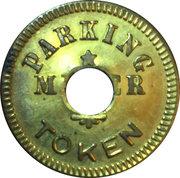 Parking Meter Token - Official Business C. of S.J. (San Jose, California) – reverse