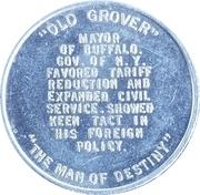 Token - Grover Cleveland – reverse