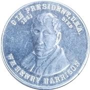 Token - William Henry Harrison – obverse